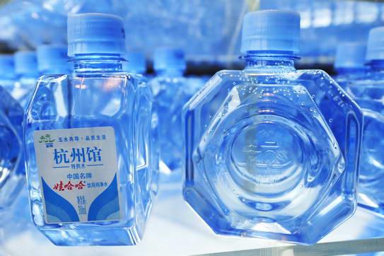 娃哈哈纯净水入选上海世博杭州馆特供水——杭商天下